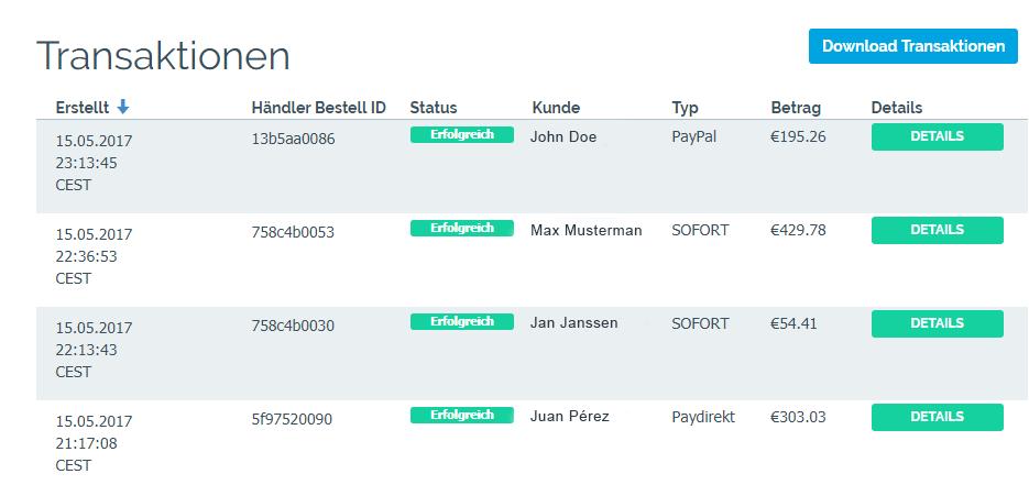 EinfachOnlineZahlen-Dashboard-Transaktionen